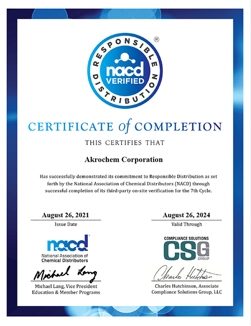 NACD Certification